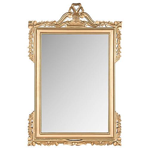 Kaufman Oversize Mirror, Gold