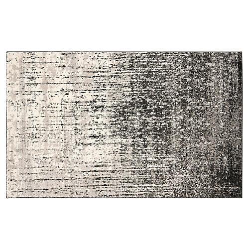 Jana Rug, Black/Gray