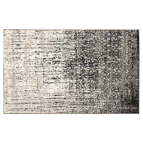 Jana Rug, Black/Gray