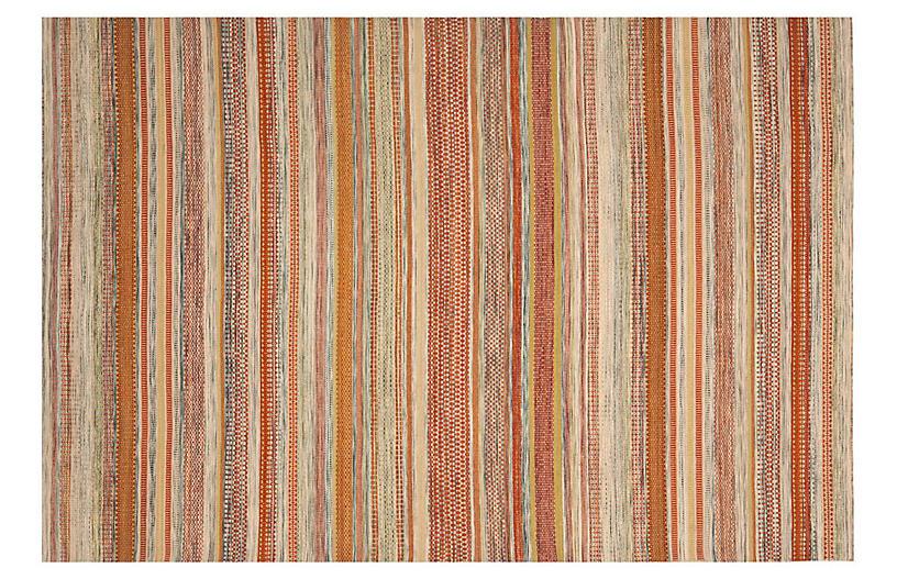 Irece Flat-Weave Rug, Beige