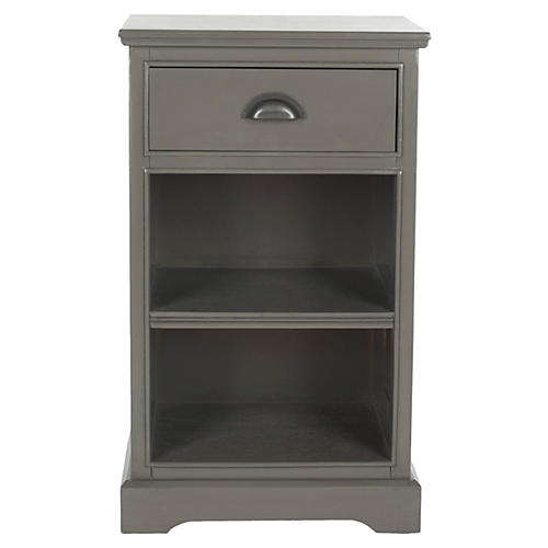 Holden Nightstand, Gray