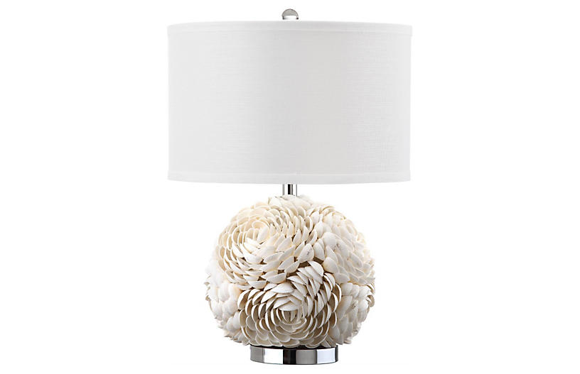 Bloom Table Lamp, White