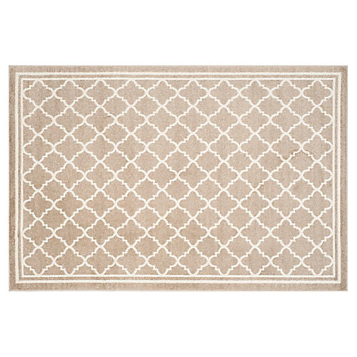 Amaretto Outdoor Rug, Wheat
