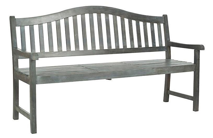 Putnam Bench, Light Gray