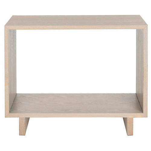 Porter Side Table, Whitewash