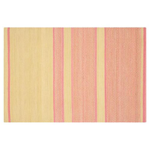 Jola Kids' Rug, Lime/Pink