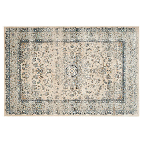 Palo Rug, Light Blue