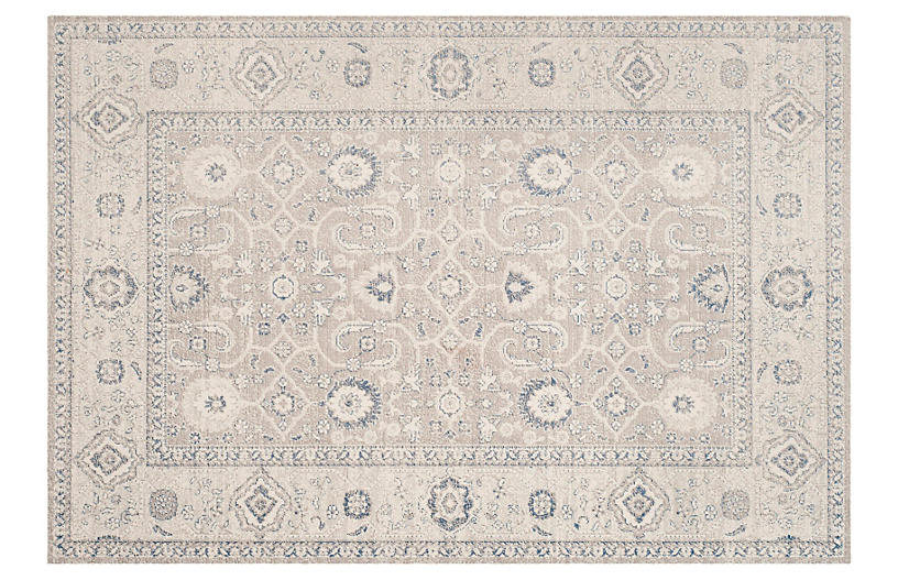 Grover Rug, Taupe/Ivory