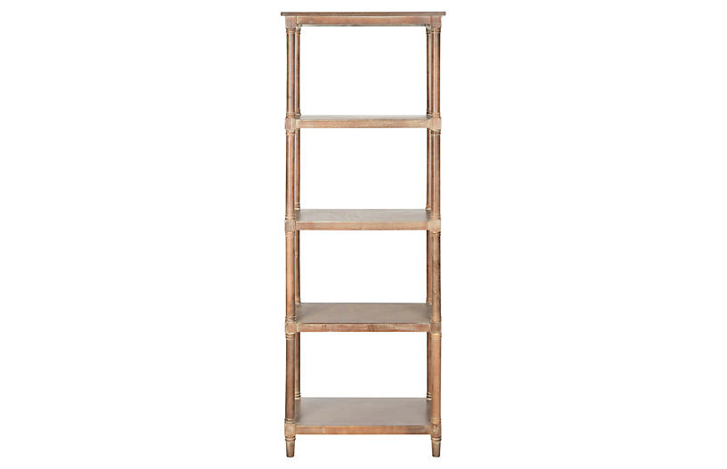 Ollie Bookcase, Natural
