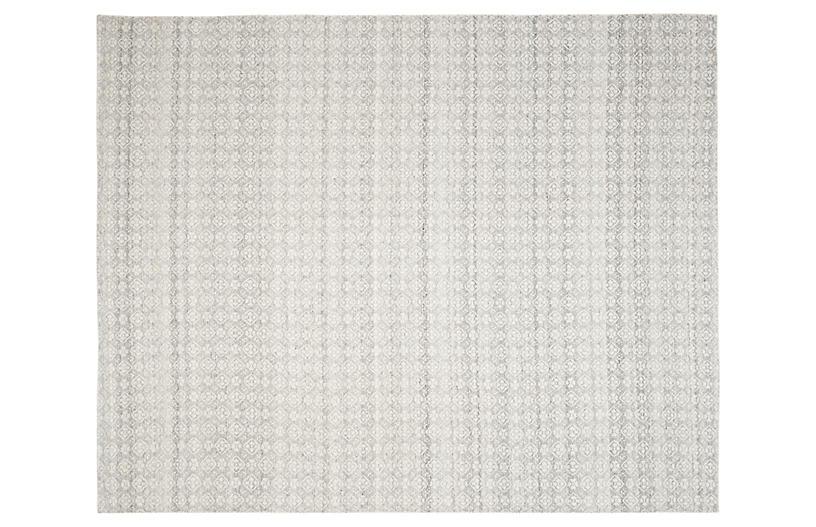 Attila Flat-Weave Rug, Ivory