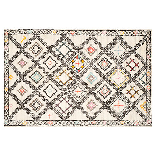 Antibes Rug, Natural/Multi