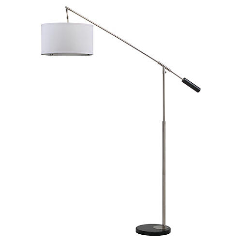 Atalanta Floor Lamp, Nickel