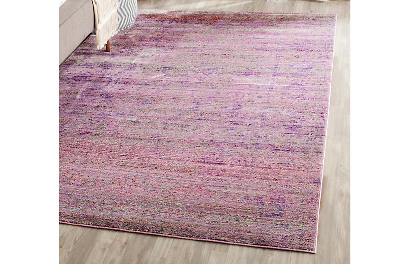 Marlette Rug Lavender Multi Contemporary Rugs By