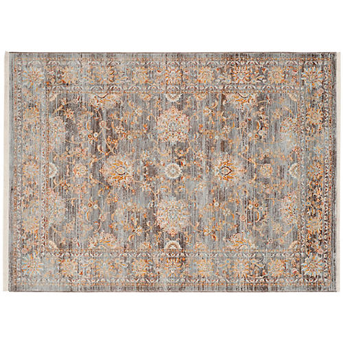 Roxanna Rug, Light Brown/Multi