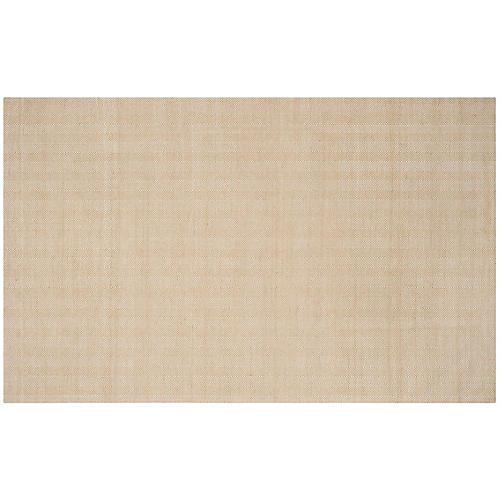 Lester Flat-Weave Rug, Beige