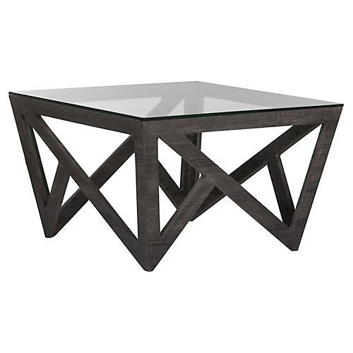 Finch Coffee Table, Dark Gray