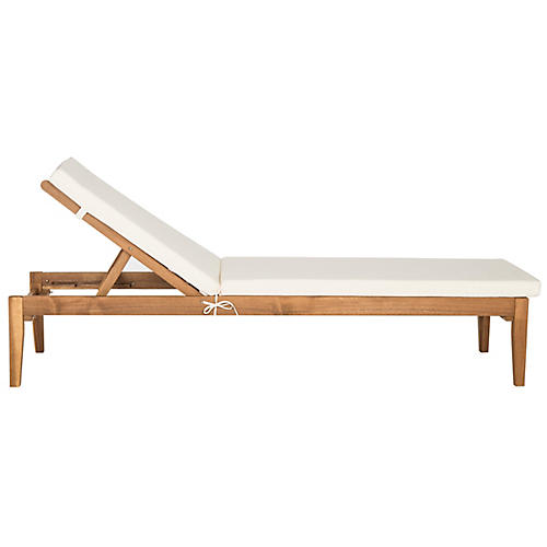 Del Mar Chaise, Natural
