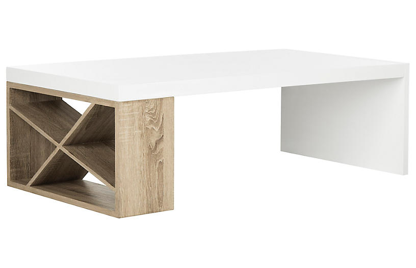 Gostra Coffee Table, White