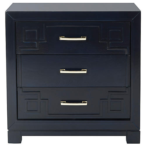 Marten Nightstand, Navy