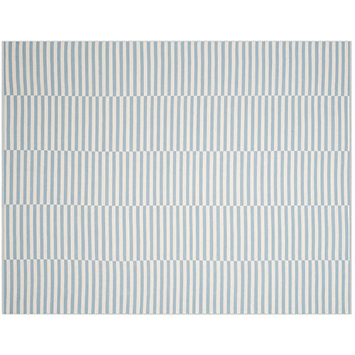 Pennswood Rug, Ivory/Light Blue