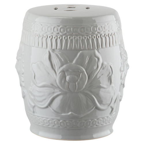 Dai Mini Garden Stool, Gray