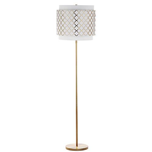 Imloch Floor Lamp, Gold