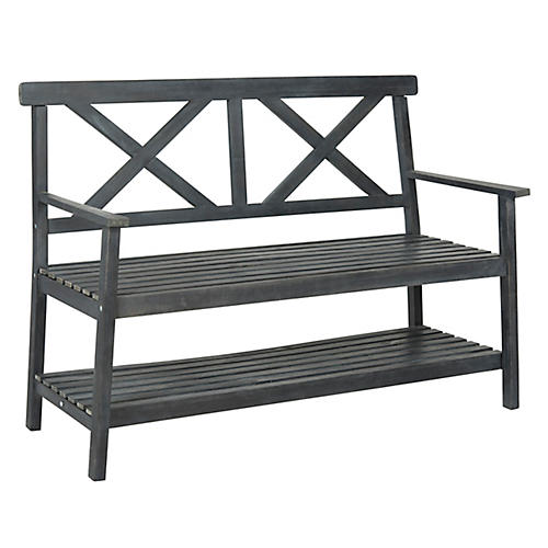 Mayer Bench, Gray