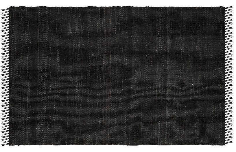 Lavell Jute Rug, Black