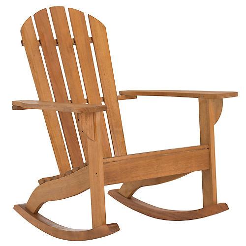 Brizio Adirondack Chair, Eucalyptus