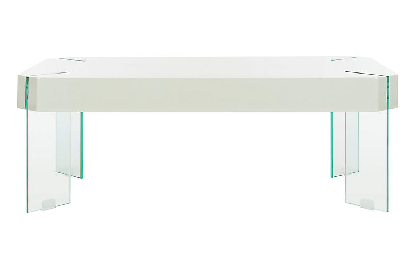Renne Coffee Table - White