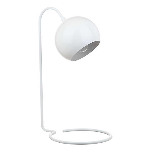 Romina Table Lamp, White