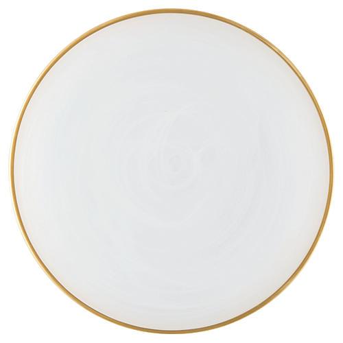 Alabaster White Dinner Plate
