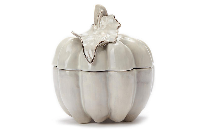Natura Small Covered Pumpkin - VIETRI