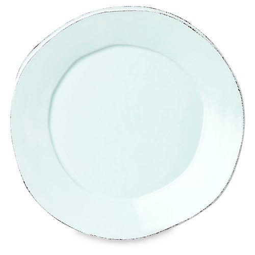Lastra Dinner Plate, Aqua