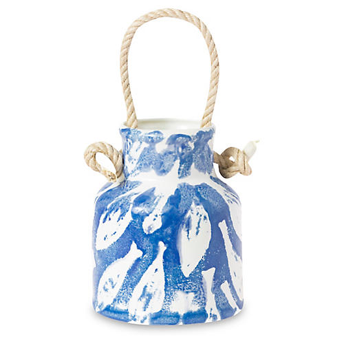 School of Fish Utensil Holder, Blue