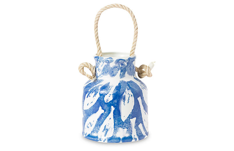 School of Fish Utensil Holder - Blue - VIETRI