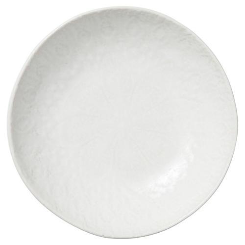 Lace Pasta Bowl, White