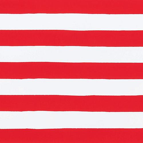 Red & White Stripe Gift Wrap