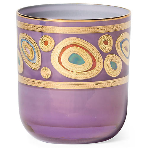 Regalia DOF Glass, Purple/Multi