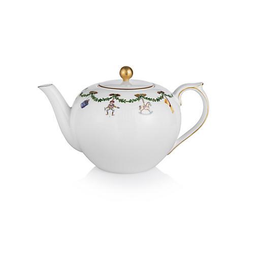 Star Fluted Teapot
