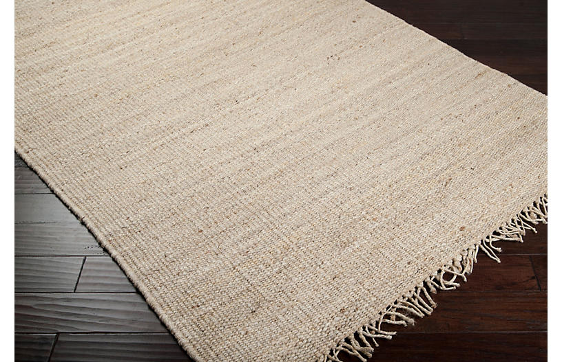 Orion Jute Rug Sand Natural Fiber Rugs By Material
