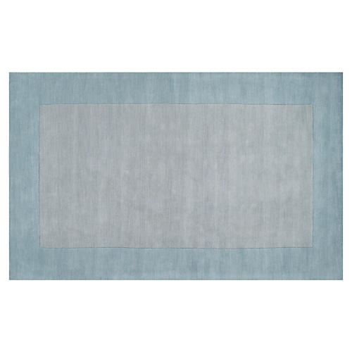 Lombard Rug, Gray/Blue