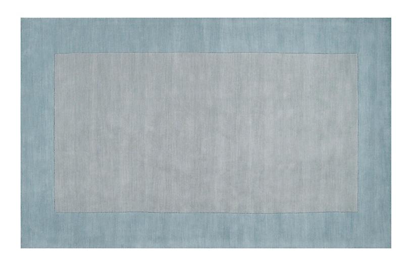 Lombard Rug, Gray/Blue