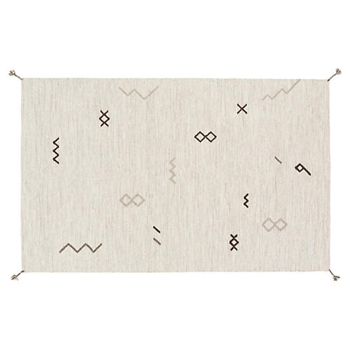 Bathilde Rug, Light Gray/Taupe