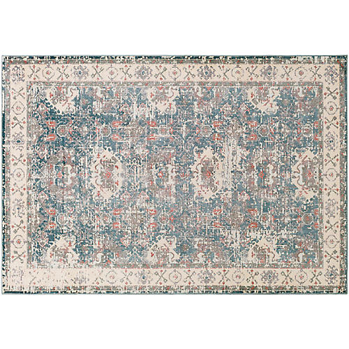 Zan Rug, Brown/Green