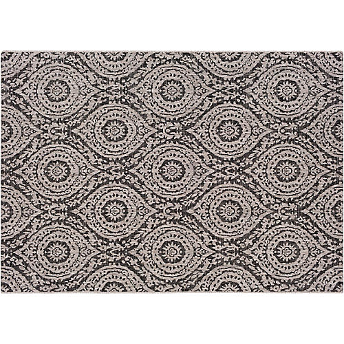 Hable Outdoor Rug, Gray