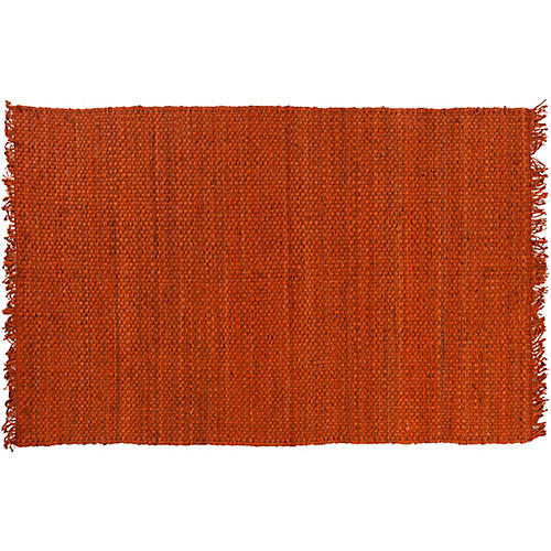 Phantom Jute Rug, Orange