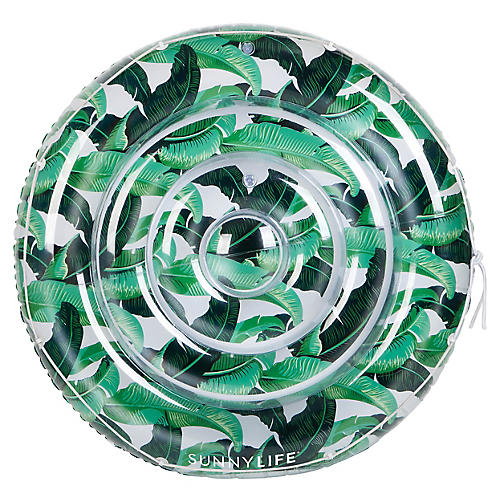 Luxe Twin Round Float, Green/Multi