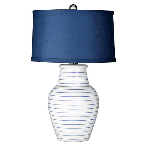 Gemma Table Lamp, Cream