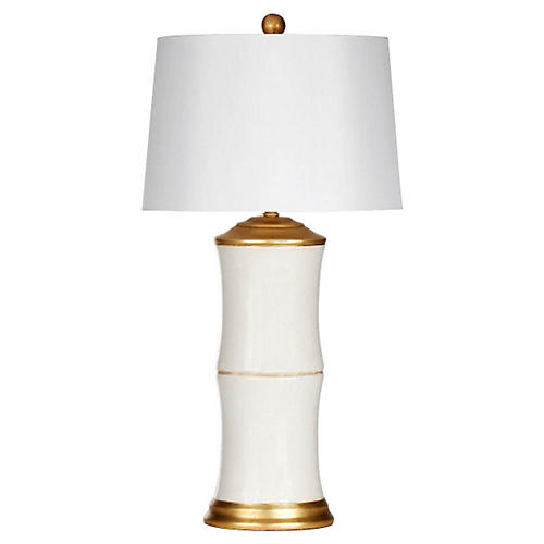 Felise Table Lamp, Cream